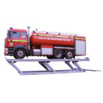 Parallelogramm lift for heavy duty vehicles