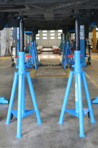 Stand and trestles
