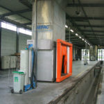 Centralized vacuum system NettoTram for tramway