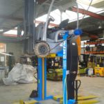 600M40 mobile column lifts for forklift trucks